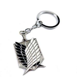 Attack on Titan Keychain: Scouting Legion Black (Survey Corps)