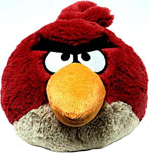Plush Toy Angry Birds 12 Inch Red Bird