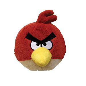 "Plush Toy Angry Birds 14"" Red Bird"