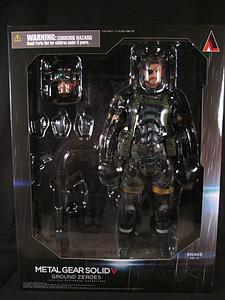 Play Arts Kai Metal Gear Solid 5 Ground Zeroes: Snake