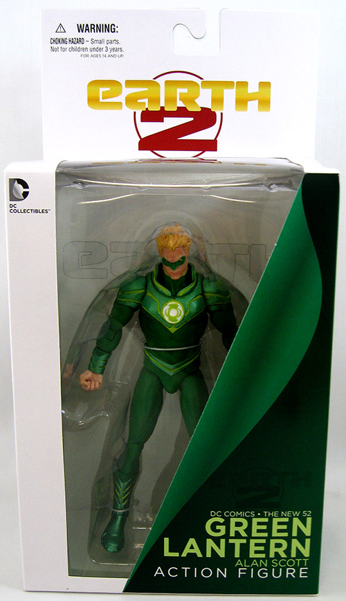 DC Collectibles New 52 Earth 2: Green Lantern (Alan Scott)
