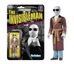 ReAction Figures Universal Monsters Series Invisible Man (Vaulted)