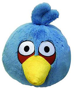 Plush Toy Angry Birds 5 Inch Blue Bird