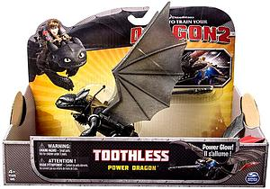 Spin Master How to Train Your Dragon 2 Power Dragon: Toothless (Power Glow)