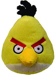 Plush Toy Angry Birds 5 Inch Yellow Sound Bird
