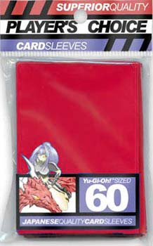 Player's Choice Japanese Quality Small Card Sleeves: Red