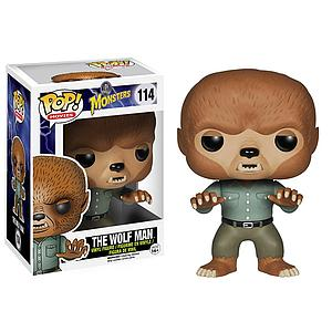 Pop! Movies Universal Monsters Vinyl Figure The Wolf Man #114 (Retired)