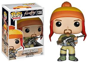Pop! Television Firefly Vinyl Figure Jayne Cobb #138 (Vaulted)