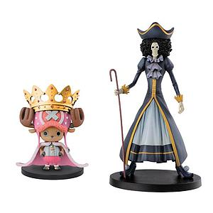 "One Piece 6"" Statue Chopper & Brook Set of 2"