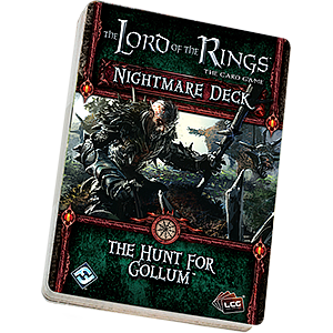 The Lord of the Rings: The Card Game - The Hunt for Gollum Nightmare Deck