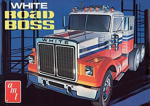 AMT Model Kits 1:25 Scale White Road Boss