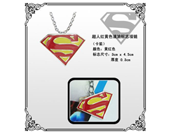 DC Man of Steel Necklace: Superman Logo (Color)