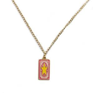 Cardcaptors Sakura Necklace Star Clow Card