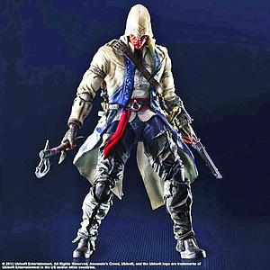 Play Arts Kai Assassin's Creed 8 Inch: Connor
