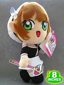 "Plush Toy Card Captors 8"" Sakura"