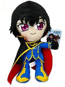 "Plush Toy Code Geass 12"" Lelouch"