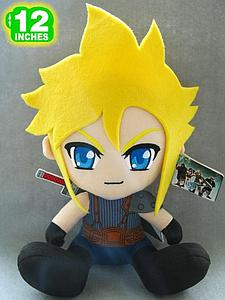 "Plush Toy Final Fantasy 12"" FF7 New Cloud"