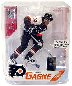 NHL Sportspicks Series 16 Simon Gagne (Philadelphia Flyers) Black Jersey Variant